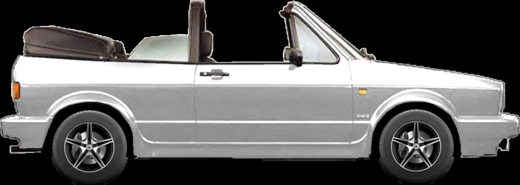 Battery for VW GOLF I (Generation 1) Cabriolet (155)